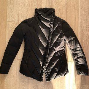 ZARA Asymmetrical Down Puffer Jacket